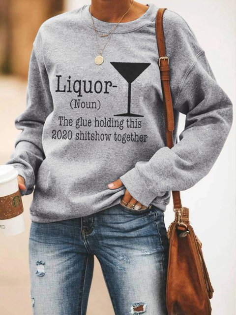 Liquor Sweatshirt