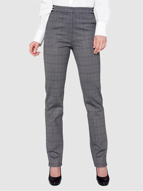 Cotton-Blend Casual Pants