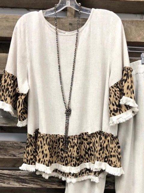 Retro Casual Long Sleeve Shirts & Tops