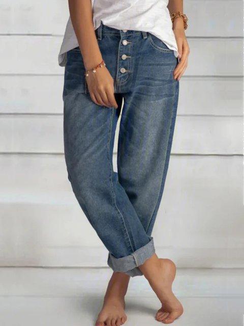 Black Casual Drawstring Pockets Stretchy Pants