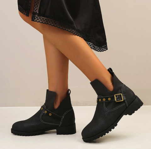 Daily Fall Low Heel Boots