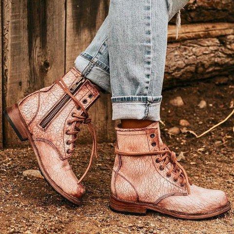 Flat Heel Daily All Season Boots