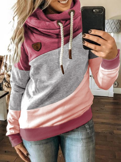 Pink Long Sleeve Sweatshirt