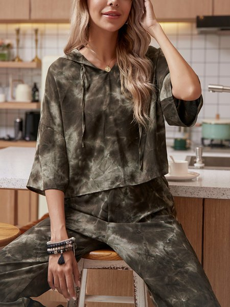 Army Green Casual Suits