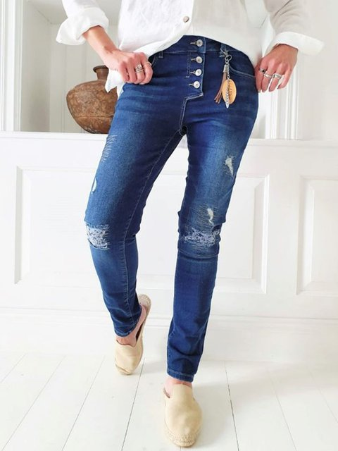 Perfect Jeans relaxed Fit, Dark Wash