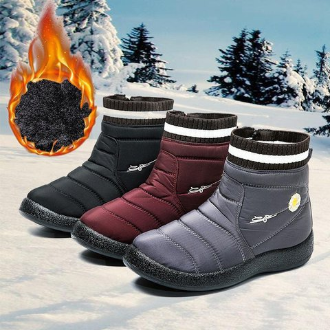 Cloth Holiday Winter Boots