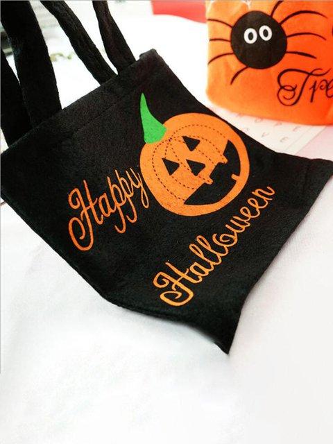 Halloween Gift Bag Pumpkin Halloween Candy Bags