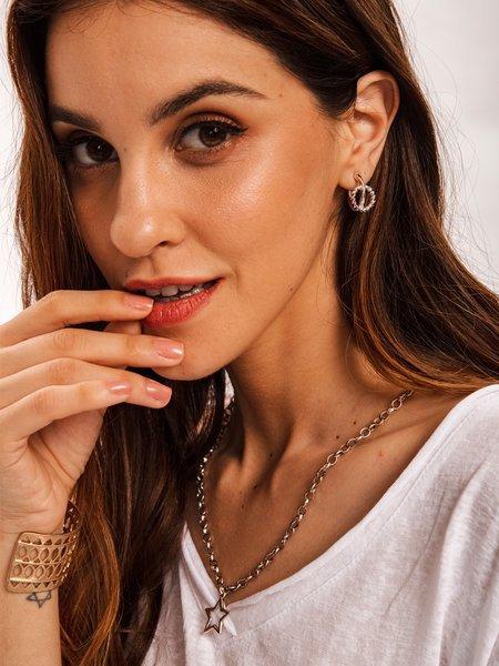 Silver Plain Alloy Necklaces