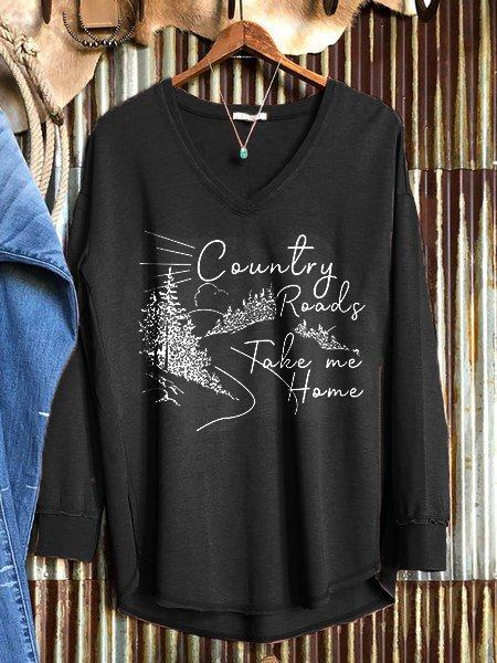 Black Casual Cotton-Blend Sweatshirt