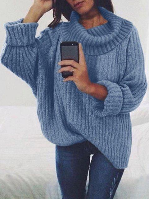 Casual Acrylic Sweater