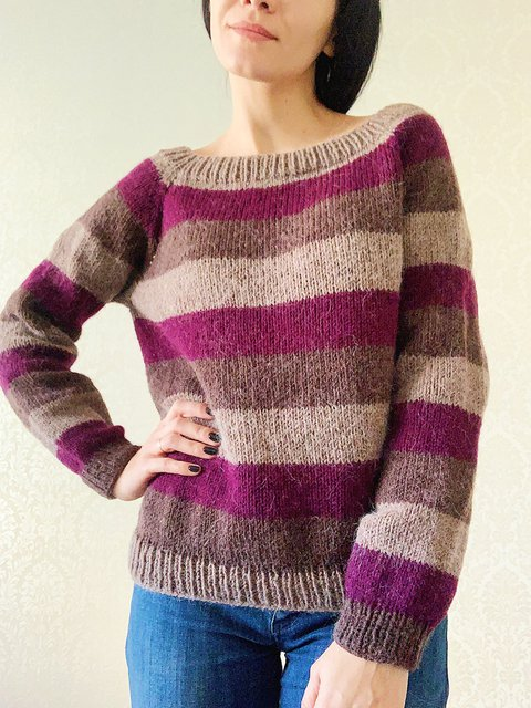 Alpaca Jumper Casual Knitted Pullover Sweater