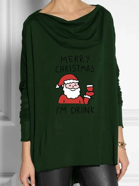 Christmas Snowman Casual Shirts & Tops