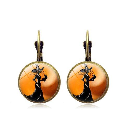 Halloween Vintage Earrings