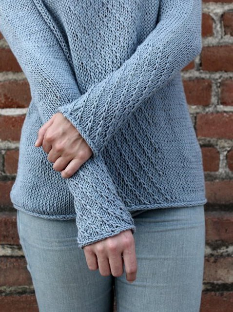 Blue Shift Casual Crew Neck Sweater
