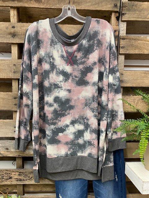 Multicolor Long Sleeve Sweatshirt