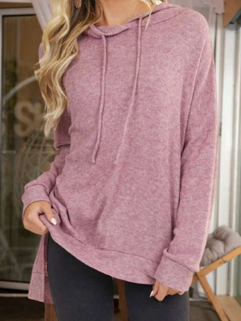 Pink Casual Knitted Shirts & Tops