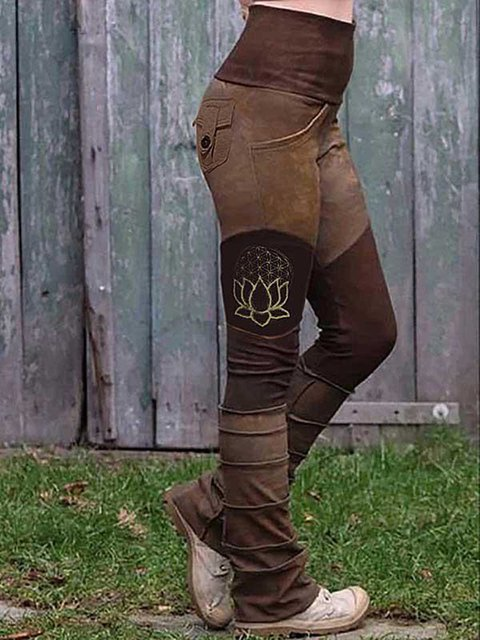 Women's Retro Simple Casual Pants