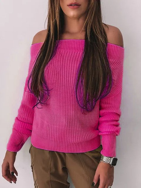 Casual Knit With A Neck