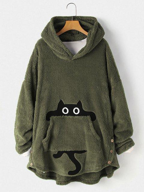 Hoodie Casual Shirts & Tops