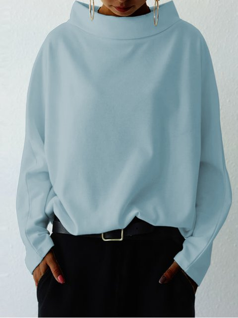 Shift Plain Work Scoop Neckline Shirts & Tops