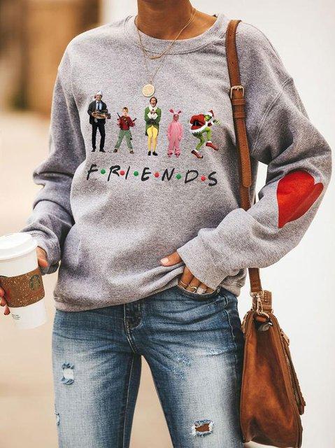 Christmas Movie Friends Sweatshirt