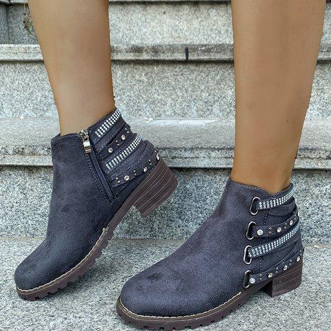 Zipper Party & Evening Boots