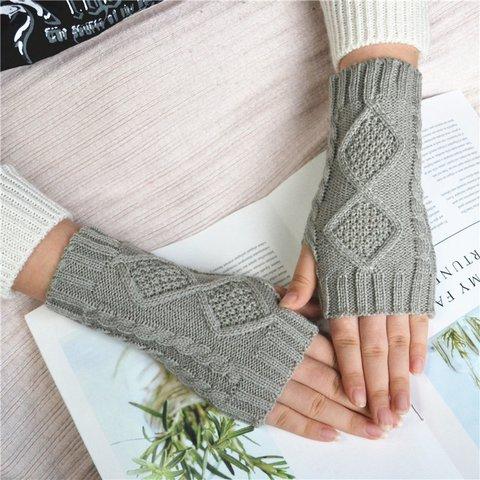 Winter Warm Knitted Gloves