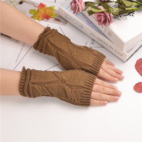 Winter Warm Knitted Gloves