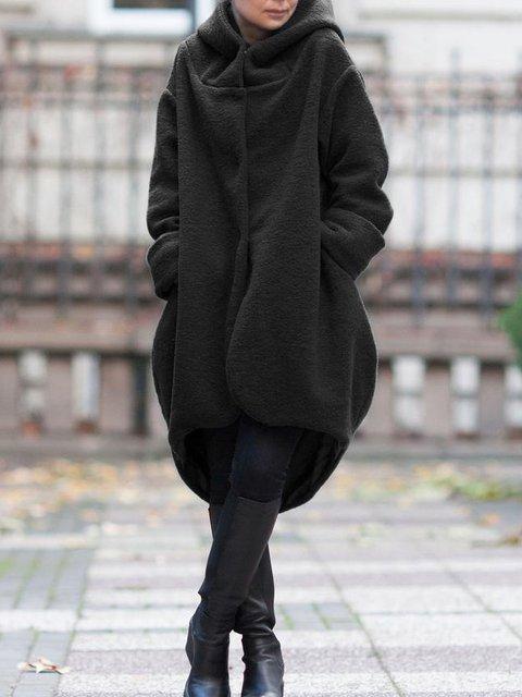 Solid Vintage Tweed Outerwear