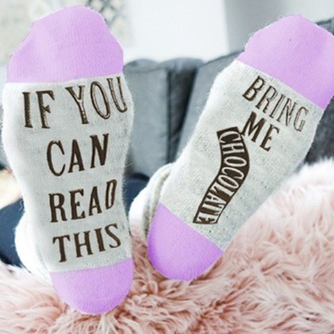 Letter Underwear & Socks