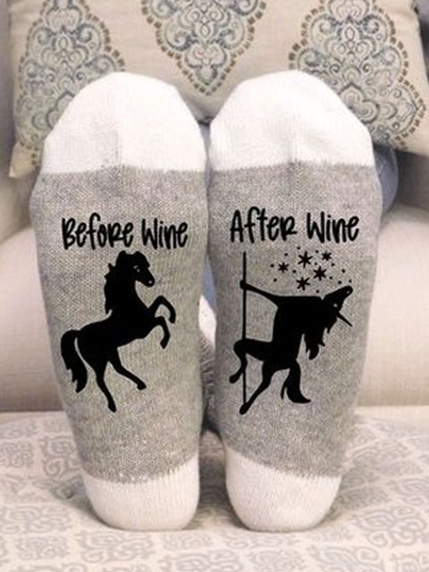 Gray Cotton Underwear & Socks