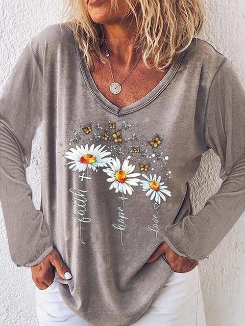 Gray Shift Casual Shirts & Tops