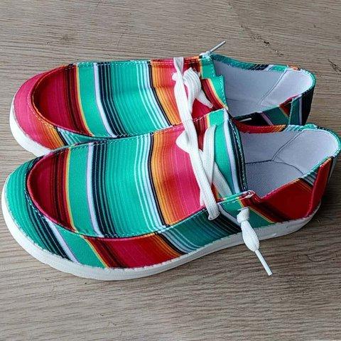 Fabric Party & Evening Flat Heel Sneakers