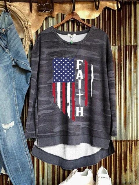 Camo Long Sleeve Shirts & Tops