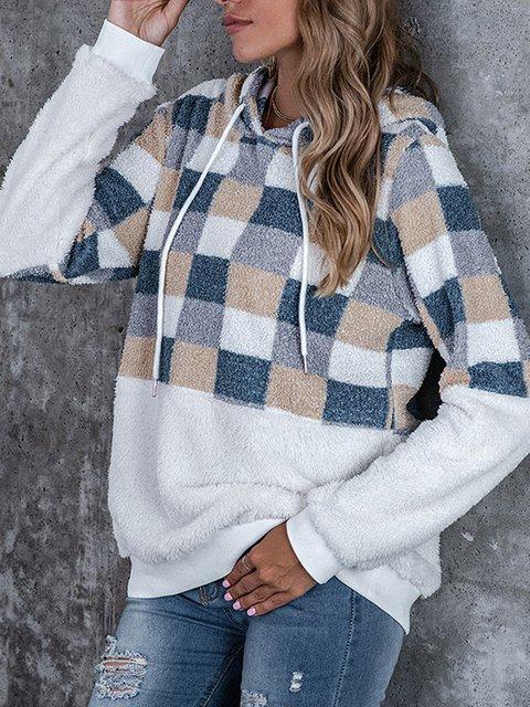 Casual Hoodie Shift Sweatshirt
