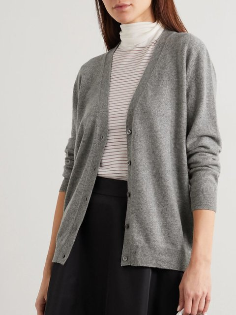 Long Sleeve Plain Sweater