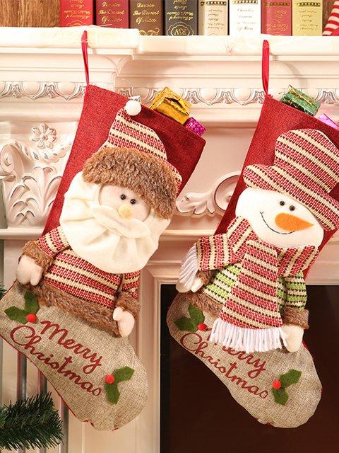 Christmas stocking gift bag christmas pendant