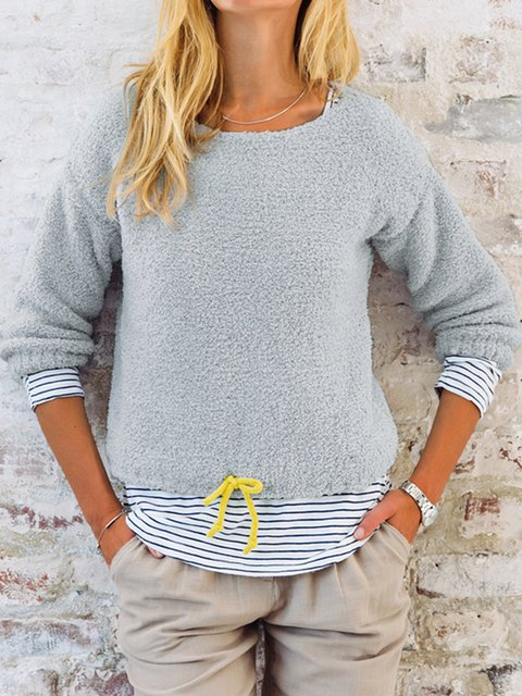 Shift Long Sleeve Cotton-Blend Sweater