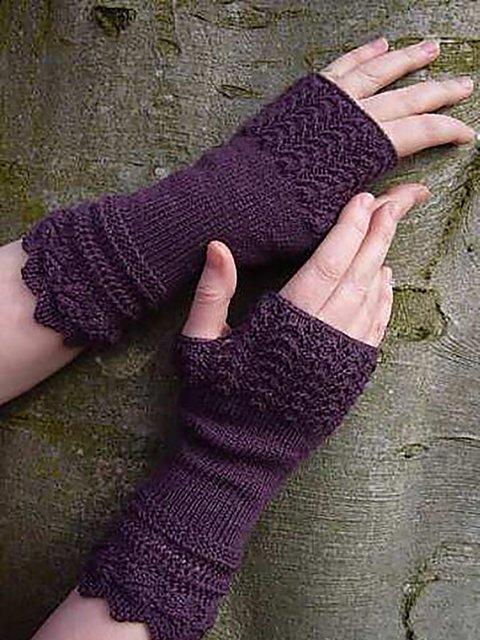 Belladonna Fingerless Casual Gloves
