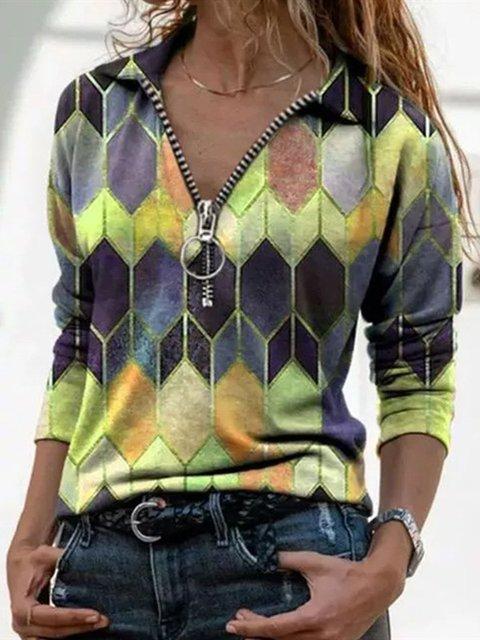 Cotton-Blend Casual Shift Shawl Collar Sweater