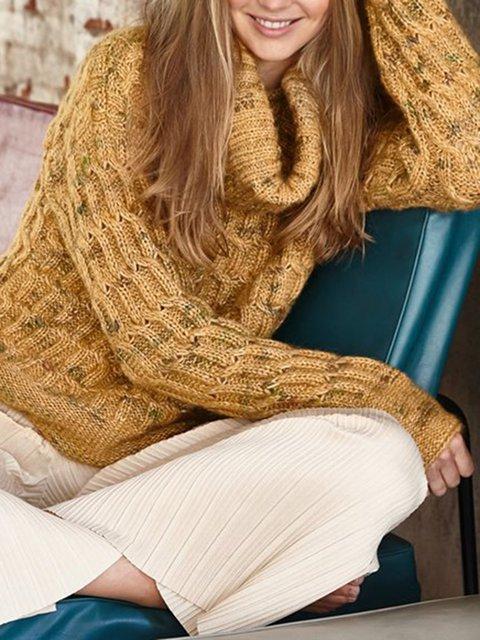 Acrylic Casual Sweater