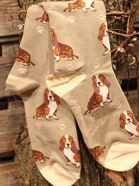 Dog cotton socks
