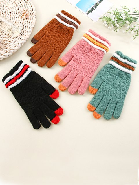 2020 new winter thickened warm touch screen gloves