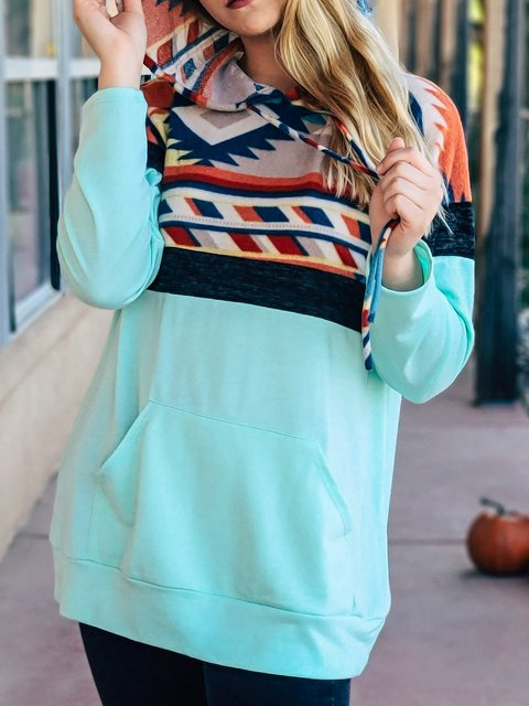 Vintage Tribal Long Sleeve Shirts & Tops