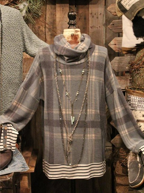 Long Sleeve Cotton Shirts & Tops