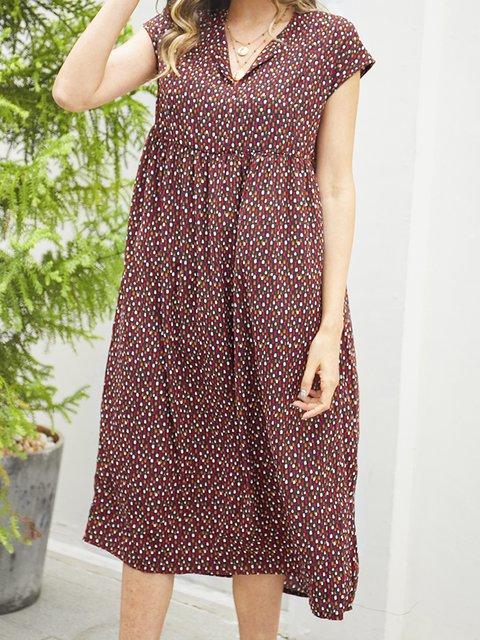 Black Cotton-Blend Paneled Sleeveless Dresses