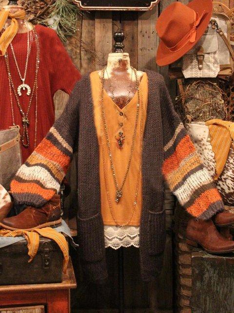 Shift Vintage Cotton-Blend Sweater