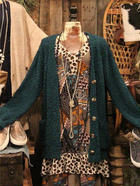Acrylic Long Sleeve Sweater