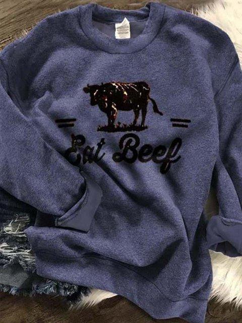 Vintage Shift Long Sleeve Sweatshirt