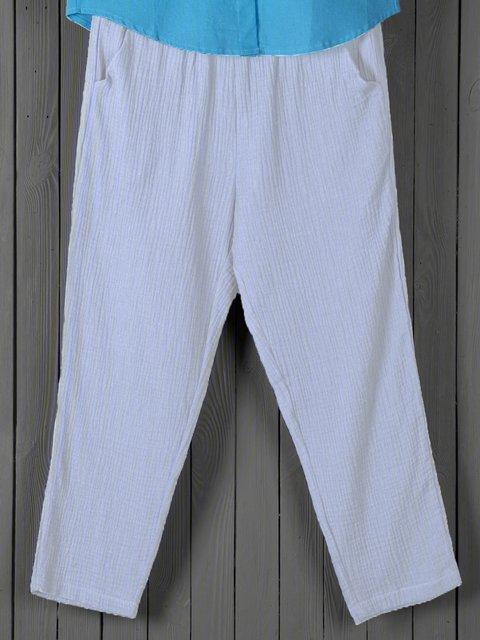 Spring/Summer Boho Linen Casual Pants